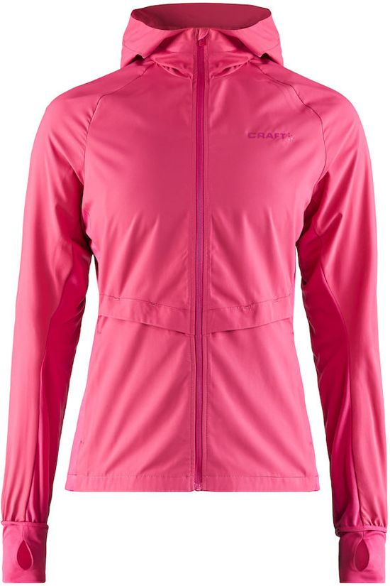 Craft Urban Run Hood Jacket Sportjas Dames - Fantasy - Maat L
