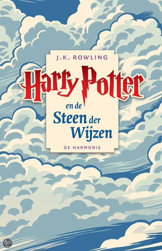 Cover van het boek 'Harry Potter 001 en de steen der wijzen luisterboek' van J.K. Rowling