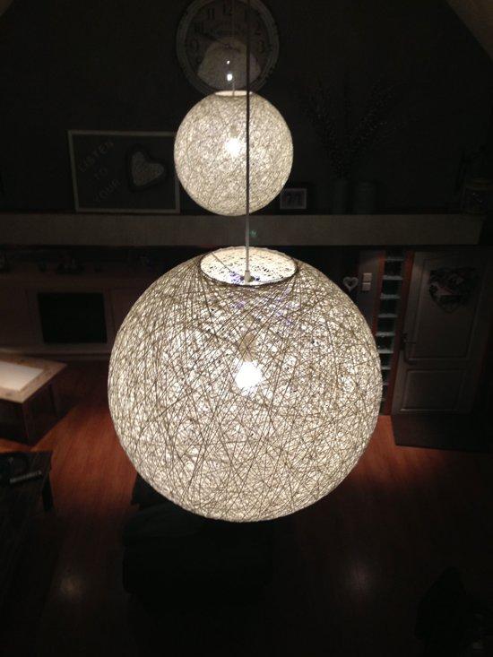 wl abaca hanglamp 45 cm wit