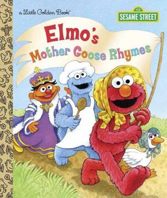 Boek cover LGB Elmos Mother Goose Rhymes (Sesame Street) van Constance Allen (Hardcover)