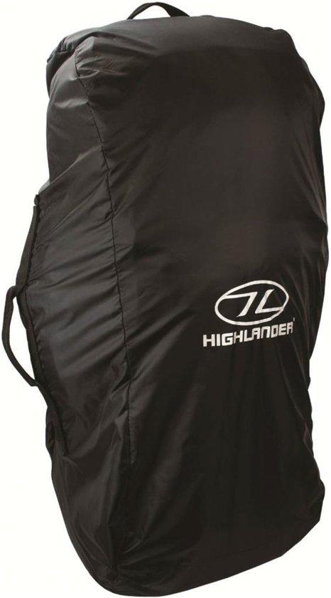 a39dbc6e715 bol.com | Highlander flightbag en regenhoes 80-100 liter - zwart