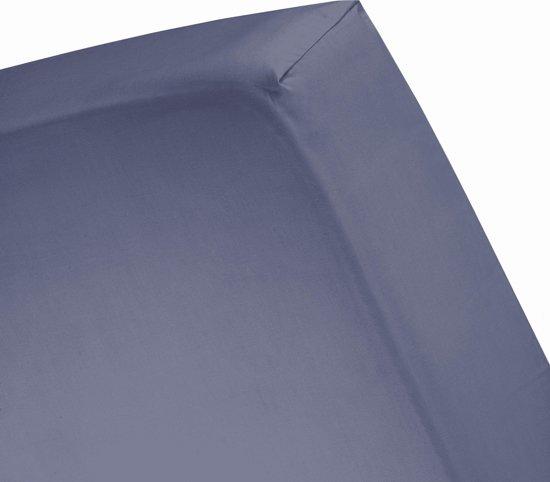 Cinderella hoeslaken jersey 120x200 (48)dark blue