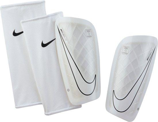 Nike Mercurial Lite scheenbeschermers  ScheenbeschermerVolwassenen - wit/zwart Maat XL