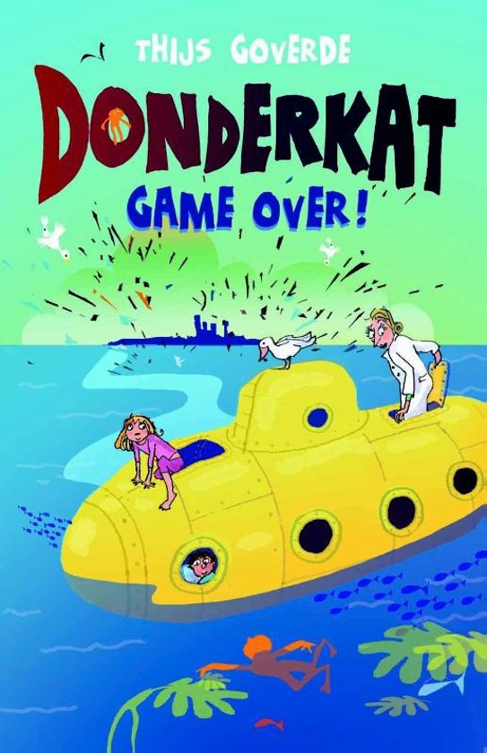Donderkat Game over !
