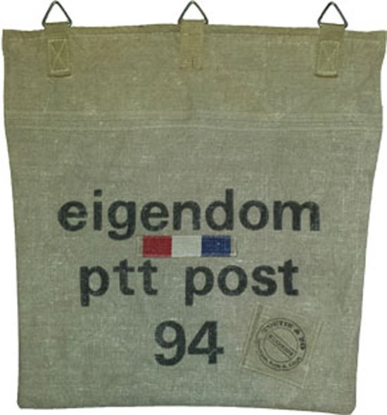 Toetie & Zo Postvanger PTT Post, postopvangzak, opberger, brievenbus, handgemaakt