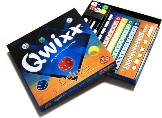 Thumbnail van een extra afbeelding van het spel Qwixx Deluxe - Dobbelspel