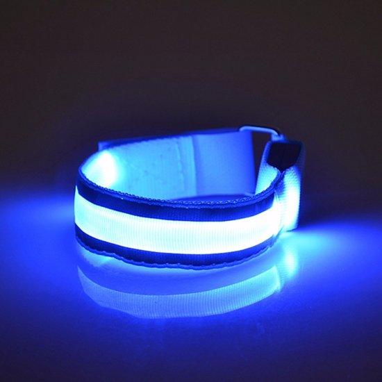 bol.com | Fiets / Hardloop Verlichting Sport Armband - Reflecterende ...