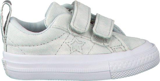 b6eda457c84 bol.com   Converse Meisjes Sneakers One Star 2v Ox - Wit - Maat 24
