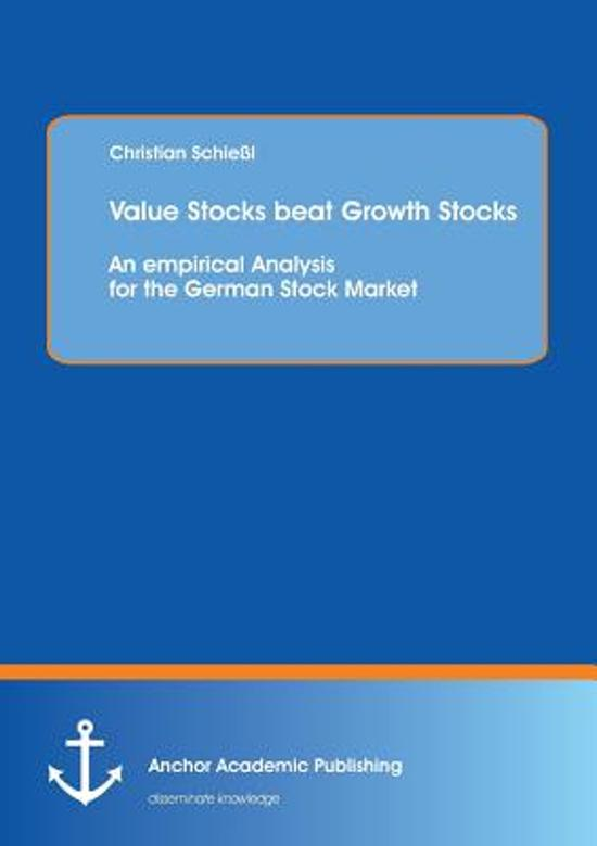 an empirical test of german stock An empirical investigation into the relation of oil his results suggested that the uk and german stock markets have t and stock, j (1996) efficient test.