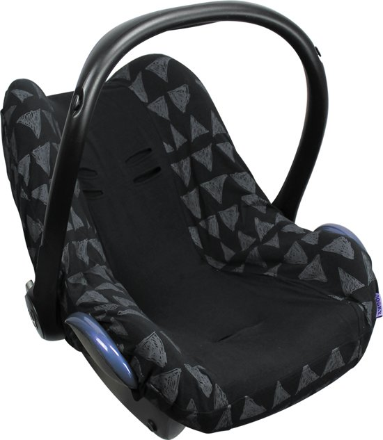 Dooky Seat Cover 0+ Autostoel hoes - Black Tribal