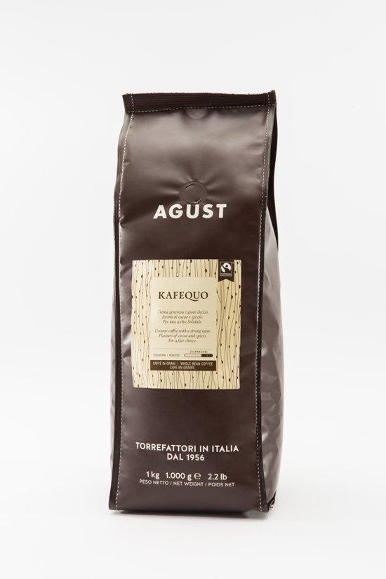 Caffè Agust Kafequo, fairtrade 1000g bonen