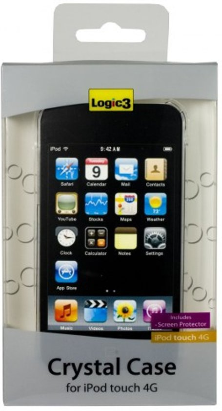 Logic3 IPT211 - Crystal Case voor Apple iPod Touch 4G - Transparant