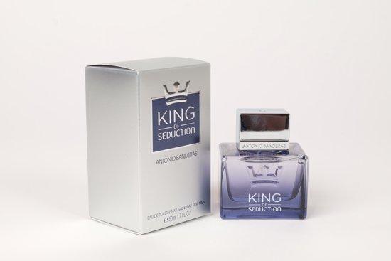 Antonio Banderas Eau De Toilette King Of Seduction 50 ml - Voor Mannen