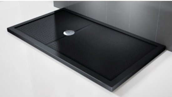 Top bol.com | Novellini douchebak olympic plus 80 x 120 cm zwart RJ36