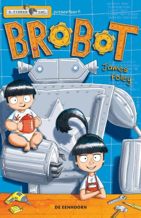 Boek cover Brobot van James Foley (Hardcover)
