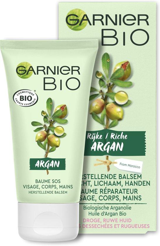 Garnier Bio Herstellende Balsem - 50 ml - Droge en ruwe huid - Gezicht, lichaam en handen