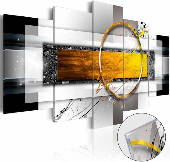 Afbeelding op acrylglas - Gouden schot,   5luik