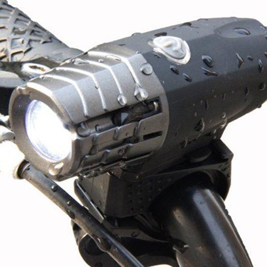 Super fel herlaadbaar fietslicht USB - (Voor + Achterlicht) LED