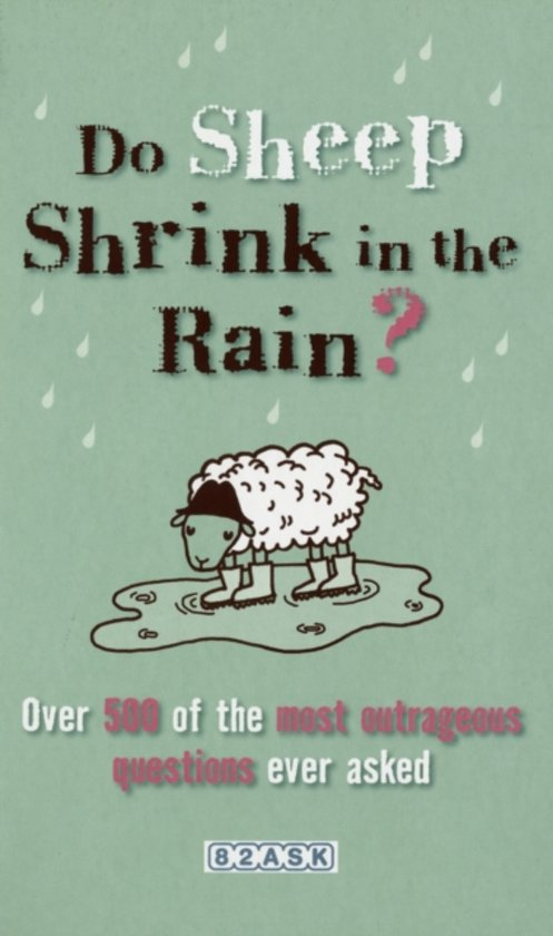 Do Sheep Shrink in the Rain?