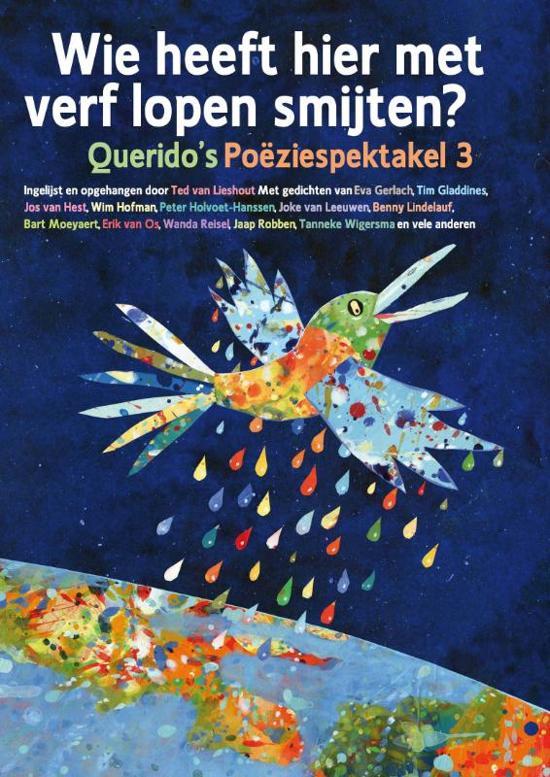 Cover van het boek 'Wie heeft hier met verf lopen smijten?' van Diverse auteurs