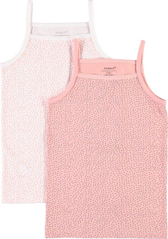Name it Meisjes Onderhemd - R.tan - maat 110-116
