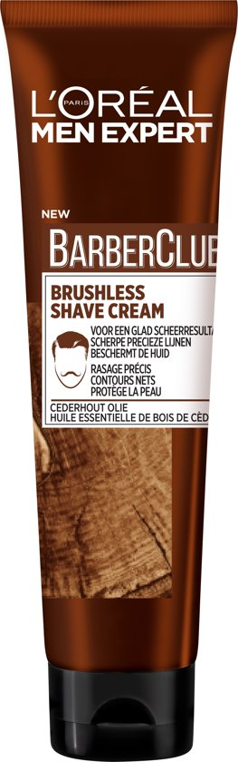L'Oréal Men Expert BarberClub Scheercrème - 150 ml