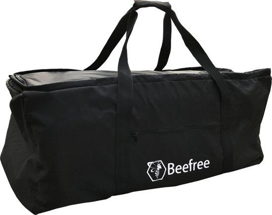 Beefree flightbag/regenhoes voor backpacks 55-90L | Reistas | Weekendtas | zwart