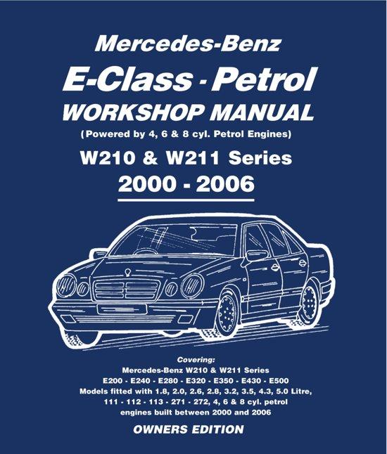 mercedes e class petrol workshop manual w210 w211 series ebook gordon lund. Black Bedroom Furniture Sets. Home Design Ideas