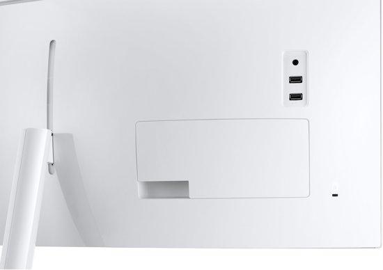 Samsung C34J791WTU 34'' UltraWide Quad HD QLED Gebogen Grijs computer monitor