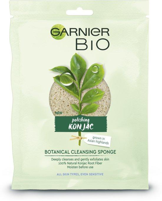 Garnier Bio Konjac Reinigingsspons - Exfoliërend