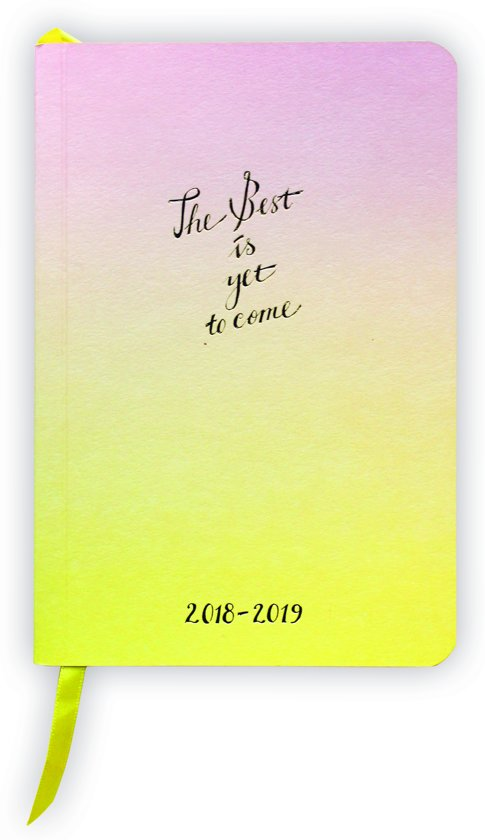 Bolcom The Best Is Yet To Come Schoolagenda 20182019 A6 72