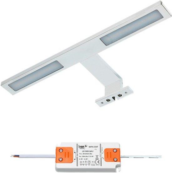 bol.com | LED badkamer spiegelverlichting Cree | 2x3 watt | wit