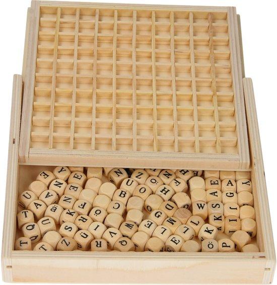 Legler Bordspel Woordenleggen - 145 blokjes
