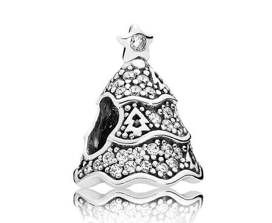 Kerstboom Pandora.Bol Com Pandora Kerstbedel Zilver Kerstboom