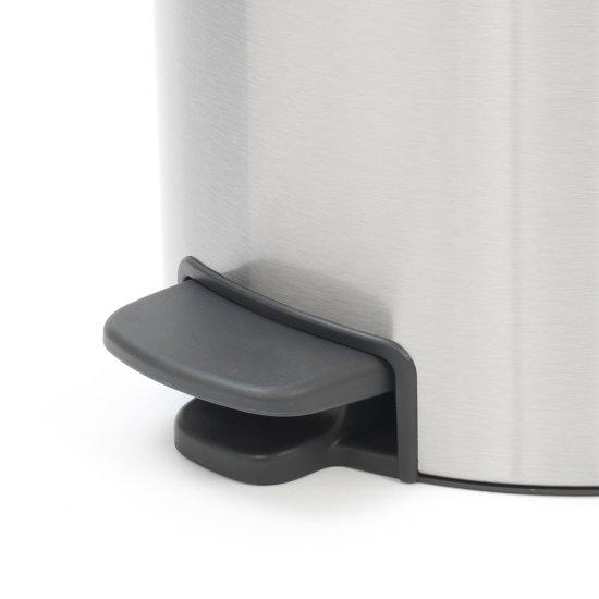Brabantia NewIcon Pedaalemmer 30 Liter mat RVS