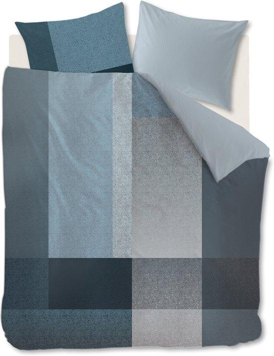 Kardol Privileged - Dekbedovertrek - Lits-jumeaux - 240x200/220 cm - Blauw Grijs