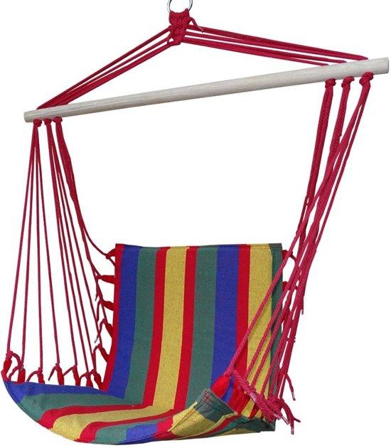 Hangende Stoel Met Standaard.Bol Com Premium Hang Stoel Hangende Relax Hangmat Tuin