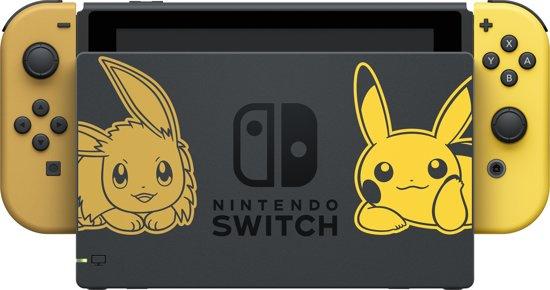 Nintendo Switch console - Let's Go Pikachu bundel