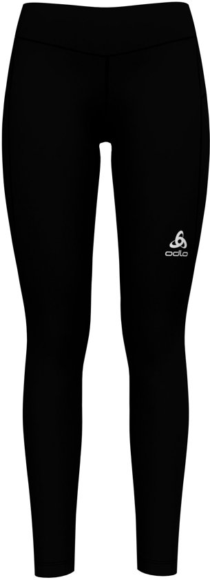 Odlo Bl Bottom Long Core Light Hardloopbroek Dames - Black