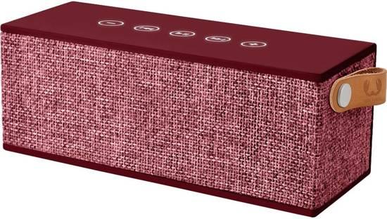 Fresh n Rebel Rockbox Brick - Draadloze Bluetooth speaker- Rood