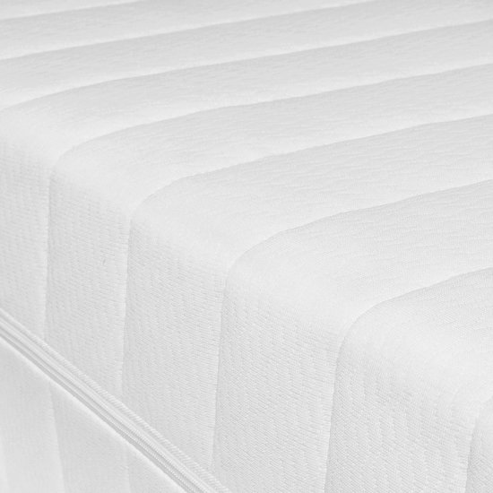 Matras - 90x220 - 7 zones - koudschuim - premium tijk - 15 cm hoog - medium & hard