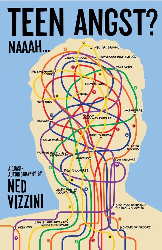 Boek cover TEEN ANGST NAAAH van Ned Vizzini (Paperback)