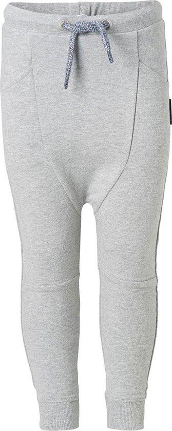 Noppies Jongens Pants sweat Nantes - Dark Grey Melange - Maat 74