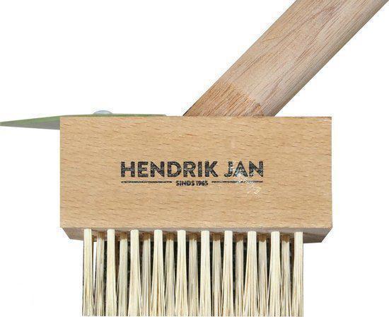Hendrik Jan onkruidborstel met schraper