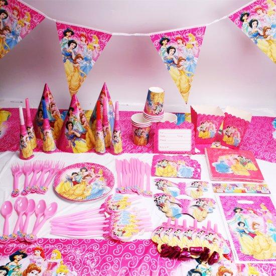 Bol Com Prinsessen Verjaardag Pakket 135 Stuks Feestartikelen
