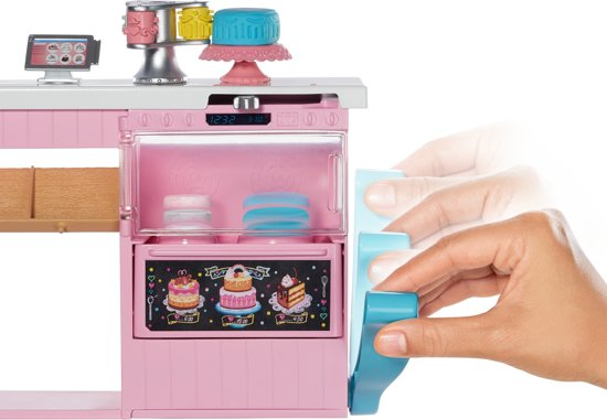 Barbie Baking Bakker met Taartdecoratie Speelset - Barbiepop