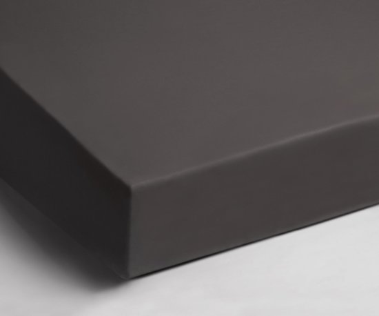 Heerlijk Zachte Velours Hoeslaken Antraciet | 180x220 | Soepel En Comfortabel | Ideale Pasvorm