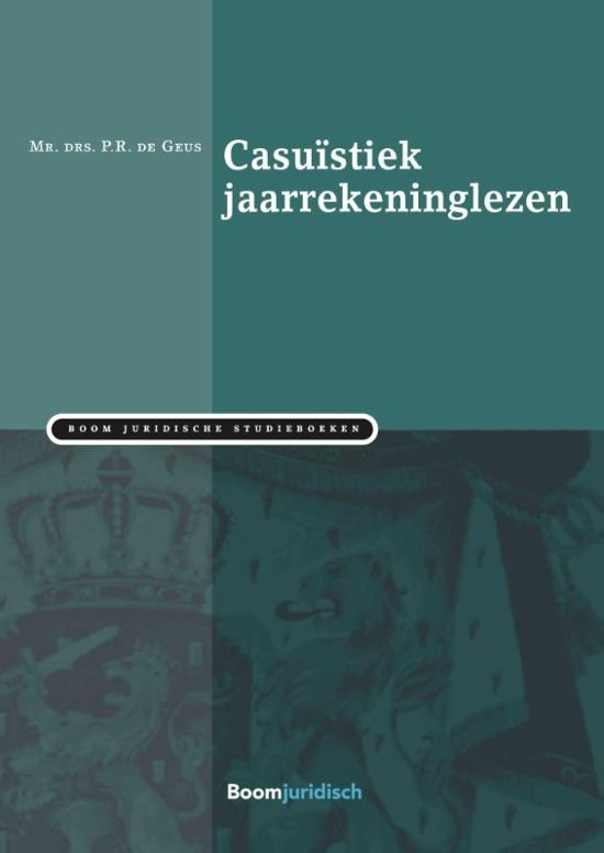 Boom Juridische studieboeken Casuïstiek jaarrekeninglezen