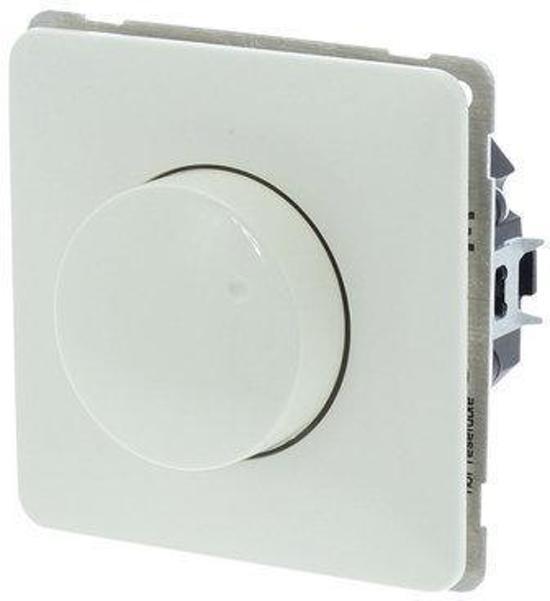 Universele Inbouw LED Dimmer - Geschikt voor Peha Standaard - Tot 2 x 150W - Universeel - Crème