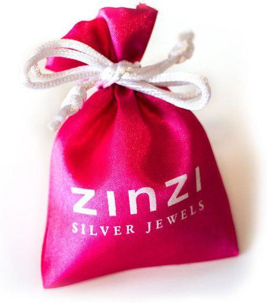 Zinzi Diamonds - Zilveren Ring - Diamant - Maat 52 (ZDR12-52)